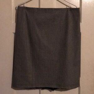 Women's Express Grey Pencil Skirt size 12